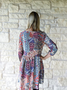 Country Chic Billow Tunic