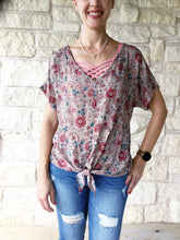 Cheery Floral Top