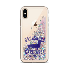 Load image into Gallery viewer, Liquid Glitter Phone Case, dachshund caretaker - Local Web Store - [product type] Collection