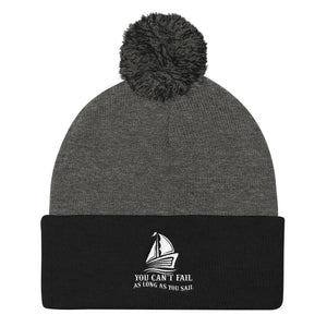 Pom Pom Knit Cap, can't fail when sail - Local Web Store - [product type] Collection