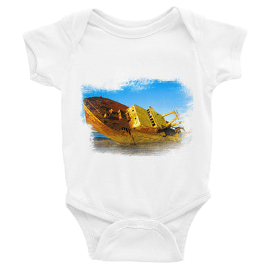 Infant Bodysuit, wrecked ship - Local Web Store - [product type] Collection