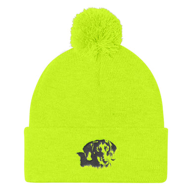 Pom Pom Knit Cap, dachshund - Local Web Store - [product type] Collection
