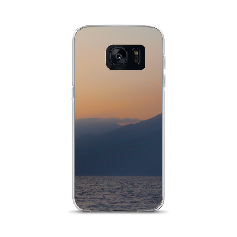 Samsung Case, mountains in sunrise-Marine-Local Webstore