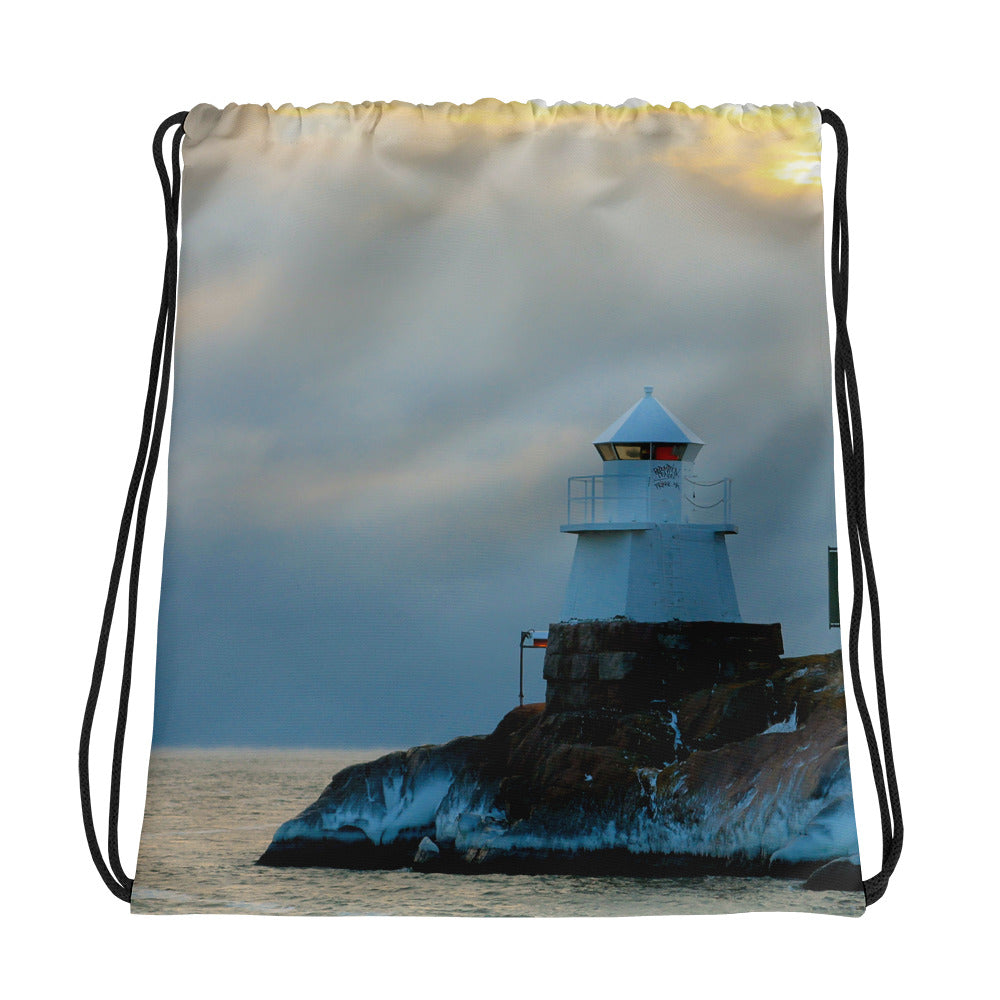 Drawstring Bag, lighthouse-Marine-Local Webstore