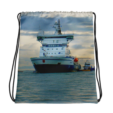 Drawstring Bag, ship-Marine-Local Webstore