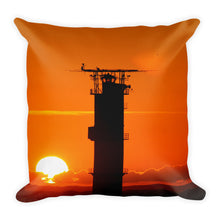 Load image into Gallery viewer, Premium Pillow, lighthouse in sunset-Marine-Local Webstore