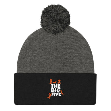 Pom Pom Knit Cap, the big five - Local Web Store - [product type] Collection