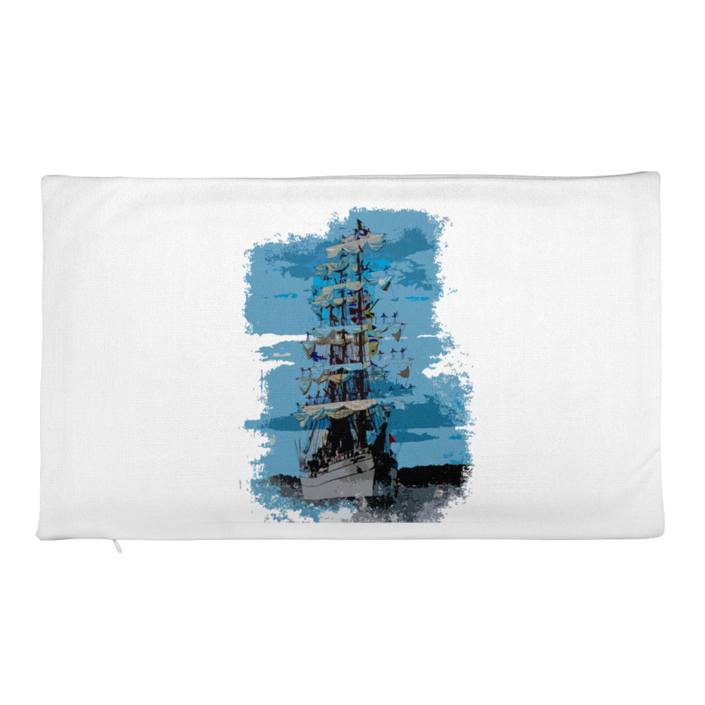 Premium Pillow Case, tall ship-Marine-Local Webstore