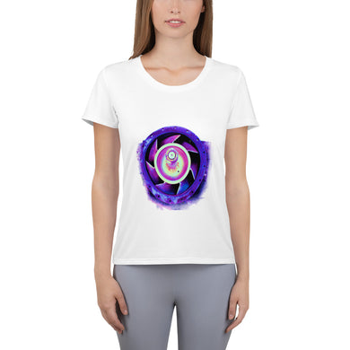 Women's Athletic T-shirt, stator-Marine-Local Webstore