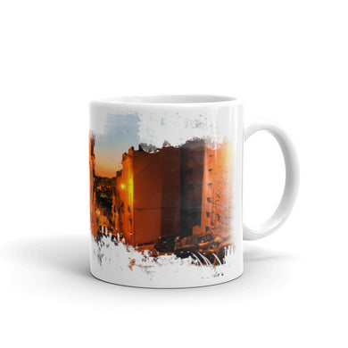 Mug, cityscape-Freedom-Local Webstore