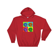 Load image into Gallery viewer, Hooded Sweatshirt, Andy Warhol dachshund-Dachshund-Local Webstore