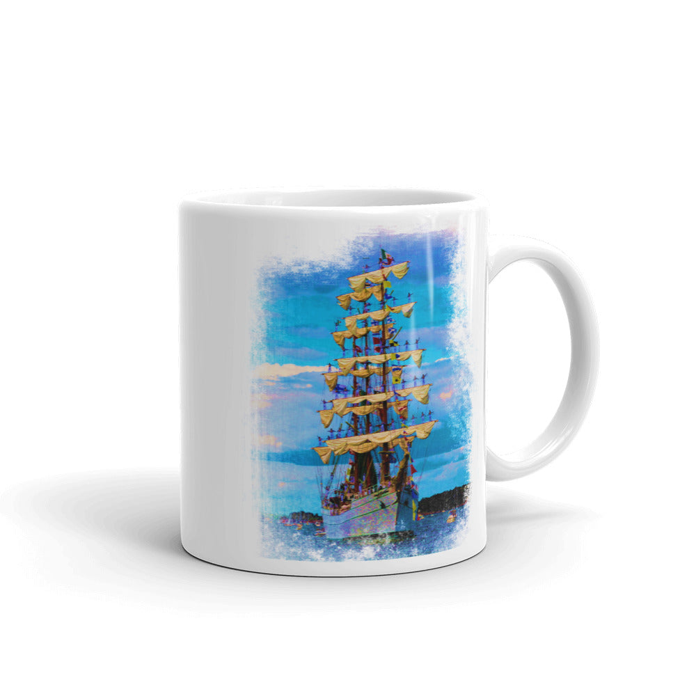 Mug, tall ship - Local Web Store - [product type] Collection