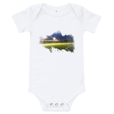 Baby Bodysuit, football pitch - Local Web Store - [product type] Collection