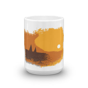 Mug, sailboats in sunset - Local Web Store - [product type] Collection