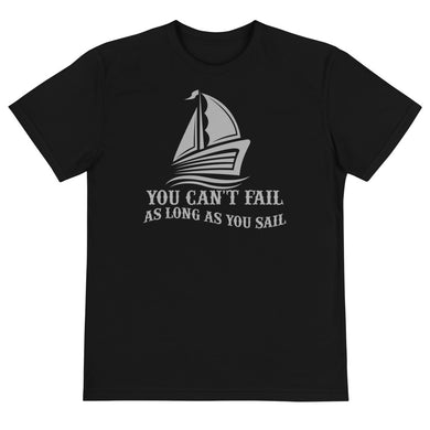 Sustainable T-Shirt, no fail when sail-Marine-Local Webstore