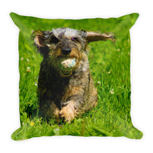 Load image into Gallery viewer, Premium Pillow, running dachshund-Dachshund-Local Webstore
