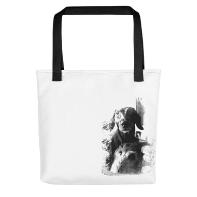 Tote Bag, two dachshunds - Local Web Store - [product type] Collection