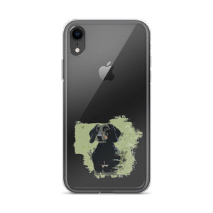 iPhone Case, smooth coat dachshund-Dachshund-Local Webstore