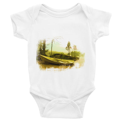 Infant Bodysuit, rowing boat-Marine-Local Webstore