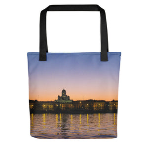 Tote Bag, Helsinki cityscape-Marine-Local Webstore