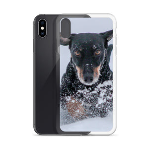 iPhone Case, running dachshund-Dachshund-Local Webstore