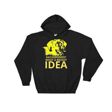 Hooded Sweatshirt, dachshunds-Dachshund-Local Webstore
