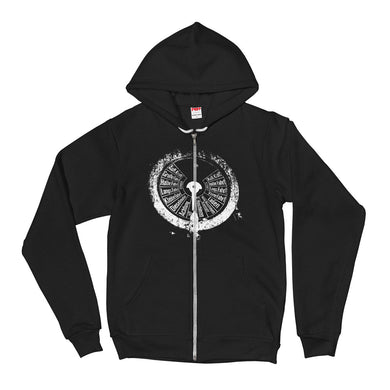 Zip Hoodie, submarine gauge-Marine-Local Webstore