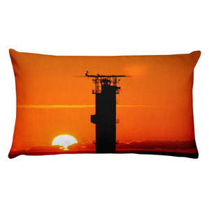 Premium Pillow, lighthouse in sunset-Marine-Local Webstore