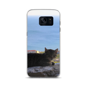 Samsung Case, cat by the sea-Marine-Local Webstore