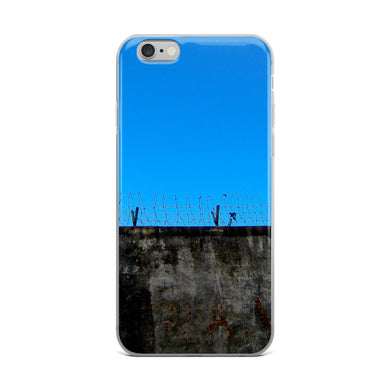 iPhone Case, barbed wire-Freedom-Local Webstore