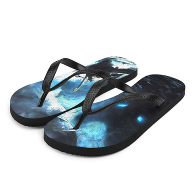 Flip-Flops, stormy sea-Marine-Local Webstore