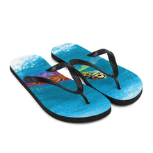 Load image into Gallery viewer, Flip-Flops, swimming turtle - Local Web Store - [product type] Collection
