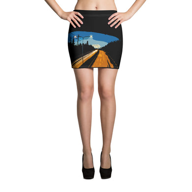 Mini Skirt, highway-Freedom-Local Webstore