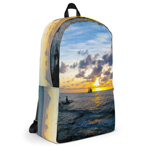 Backpack, sailboat in sunset-Marine-Local Webstore