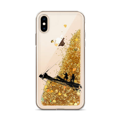 Liquid Glitter Phone Case, tall ship bow-Marine-Local Webstore