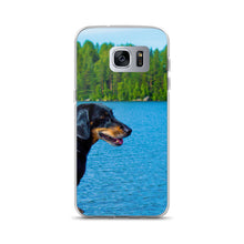 Load image into Gallery viewer, Samsung Case, black dachshund-Dachshund-Local Webstore