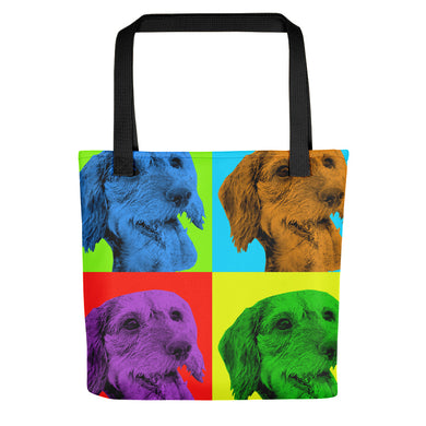 Tote bag, Andy Warhol dachshund - Local Web Store - [product type] Collection