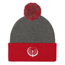 Load image into Gallery viewer, Pom Pom Knit Cap, submarine gauge - Local Web Store - [product type] Collection