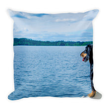 Load image into Gallery viewer, Premium Pillow, smooth coat dachshund-Dachshund-Local Webstore