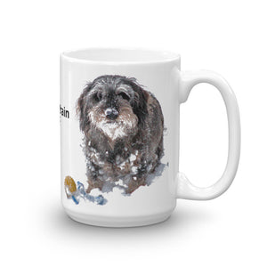 Mug, dachshund with ball - Local Web Store - [product type] Collection