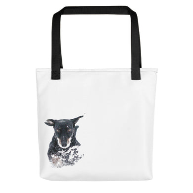 Tote bag, running dachshund - Local Web Store - [product type] Collection