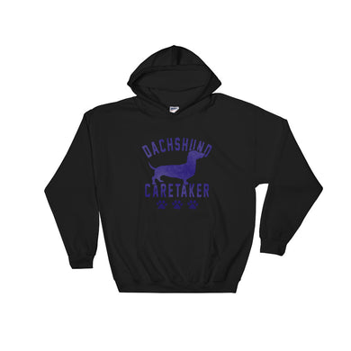 Hooded Sweatshirt, dachshund caretaker - Local Web Store - [product type] Collection