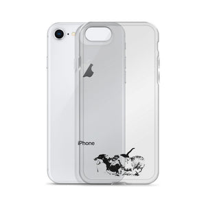 iPhone Case, running dachshunds-Dachshund-Local Webstore