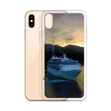 Load image into Gallery viewer, iPhone Case, cruise liner in sunset-Marine-Local Webstore