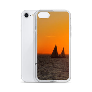 iPhone Case, sailboats in sunset-Marine-Local Webstore