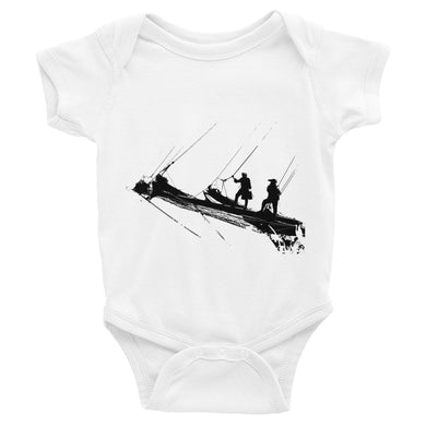 Infant Bodysuit, bow of tall ship-Marine-Local Webstore
