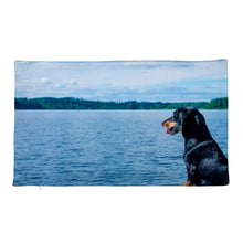 Load image into Gallery viewer, Premium Pillow Case, dachshund by water-Dachshund-Local Webstore