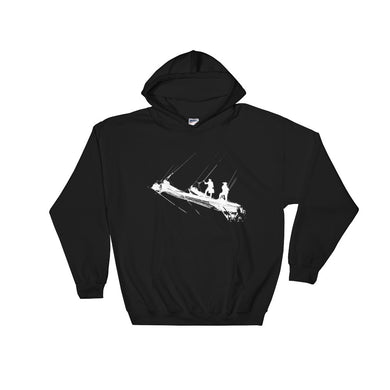 Hooded Sweatshirt, tall ship bow-Marine-Local Webstore