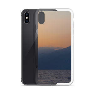 iPhone Case, mountains in sunrise-Marine-Local Webstore
