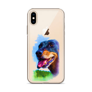 iPhone Case, dachshund-Dachshund-Local Webstore